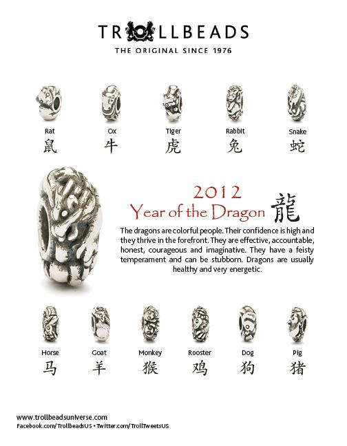 2012 Chinese Zodiac eblast