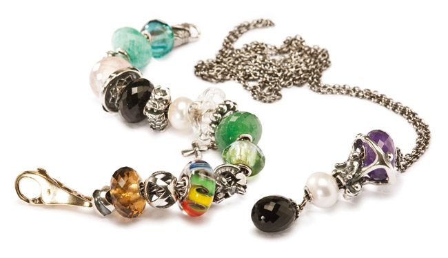 2012 peoples bead bracelet and necklace