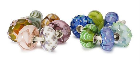 Trollbeads Gallery Spring Flower Sets