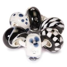 Trollbeads Gallery Black and white kit