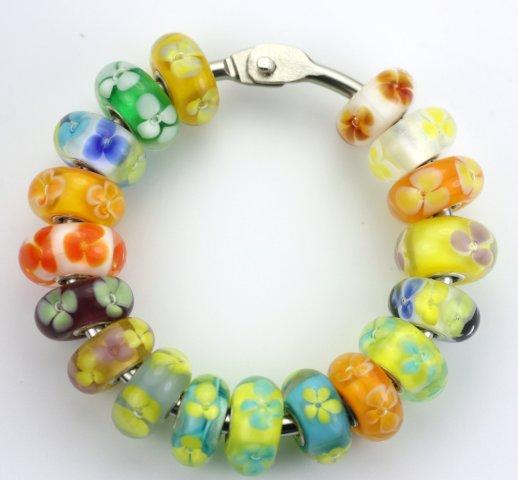 Trollbeads Gallery Flower Unique Beads