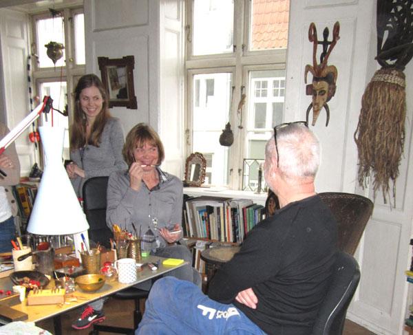 Trollbeads Designers Lise Aagaard and Soren Nielsen