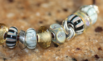 Trollbeads  New Beads Used with older Trollbeads