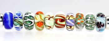 Trollbeads Gallery artisan beads