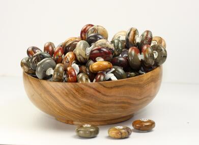 Trollbeads Picasso Jasper beads