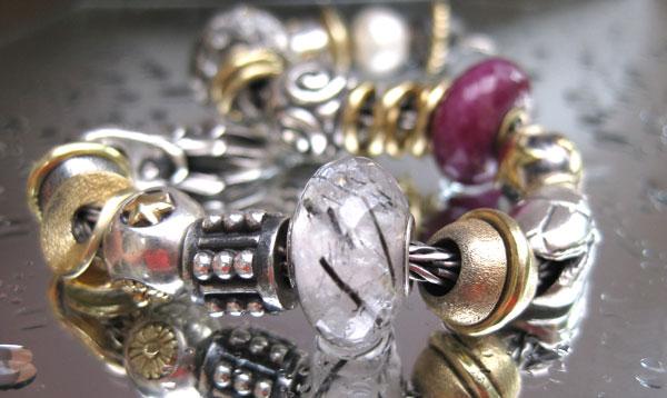 Trollbeads Quartz bead