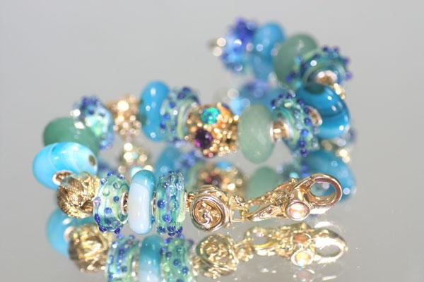 Trollbeads Bracelets with White cap