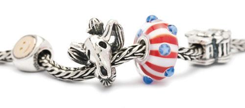 USA World tour beads Trollbeads Gallery