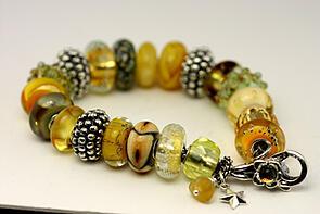 Yellow bracelet 2