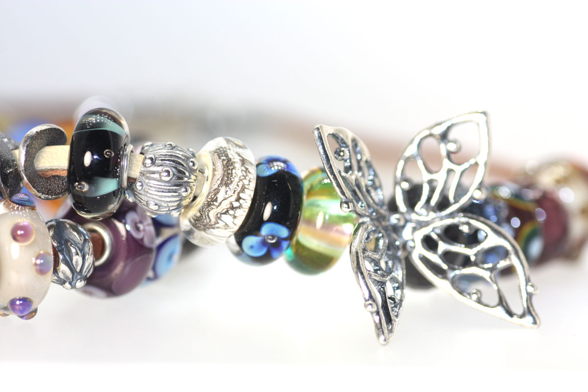 Trollbeads Gallery Big Butterfly