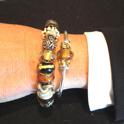 Trollbeads Bangle Golden Qu