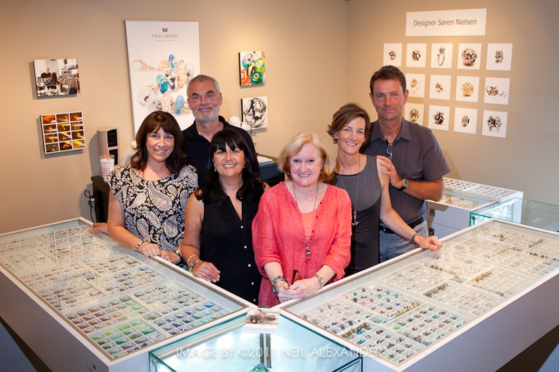 Soren's visit to Trollbeads Gallery Rogers Gallery
