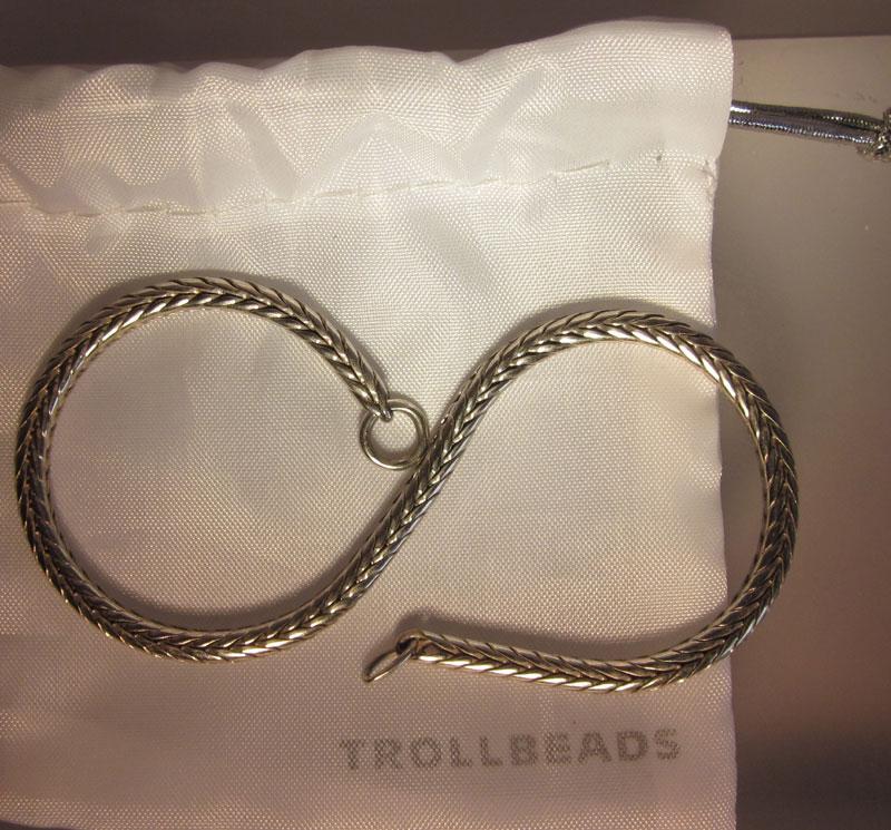Fake Trollbeads chain