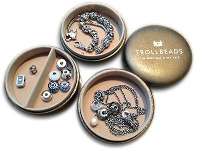 Traveler Stackable Bronze Jewelry Box