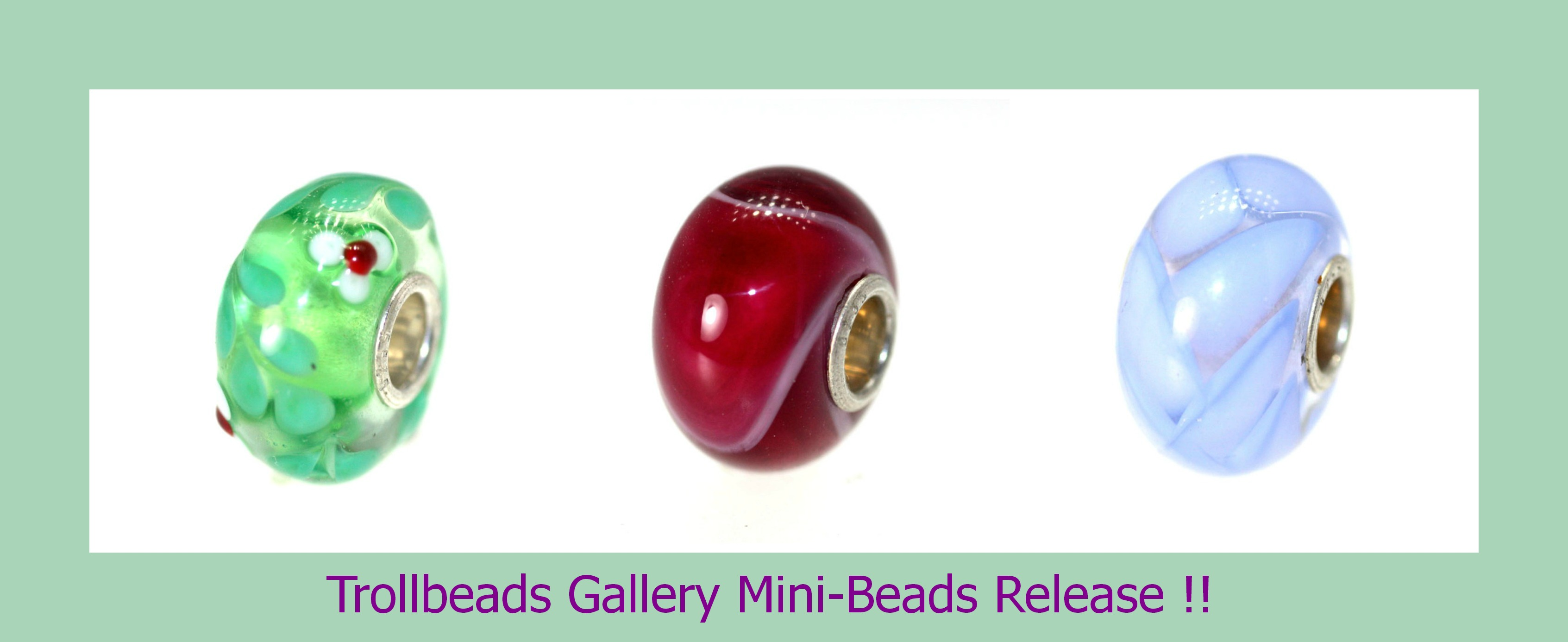 Trollbeads Gallery collage mini