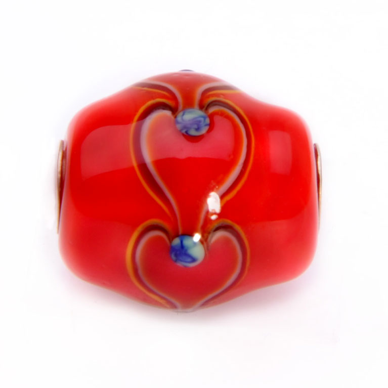 red hearts bead site